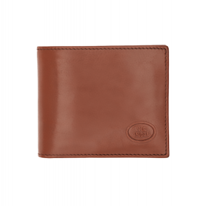The Bridge Story Wallet 8cc Brown Leather Made Italy 01481001-14