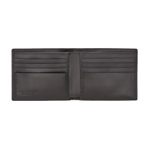 The Bridge Story Wallet 8cc Black Leather Made Italy 01481001-20