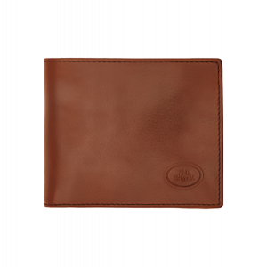 The Bridge Story Line Wallet 4cc With Coin Case Brown Leather 01486001-14