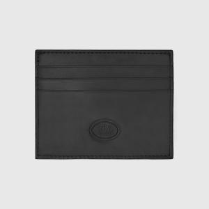 The Bridge Story Line Wallet Card Holder 6cc Black Leather 01487001-20