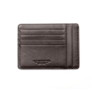 A.G. Spalding NEW YORK Large Brown Pocket Credit Card Holder 8cc RFID Protatction wallet