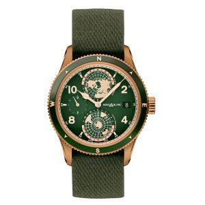 Montblanc Watch 1858 Geosphere Limited Edition Bronze Green Dial best