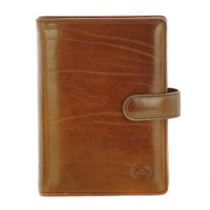 The Bridge Story Conference Folder Story Brown With Zip 01904501-14 Organizer man woman business