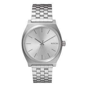 Nixon Watch Time Teller Silver 37 mm