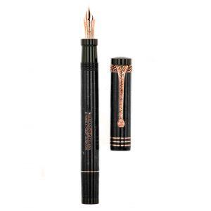 Aurora Internazionale Fountain pen Gold Nib 18k F Limited Edition 19A-B