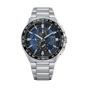 Citizen Man Watch H800 Titanium Ecodrive Blue Dial AT8234-85L