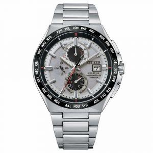 Citizen Man Watch H800 Titanium Ecodrive Silver Dial AT8234-85A