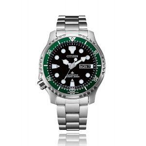 Citizen Orologio Promaster Diver Automatic 200 mt Ghiera Verde NY0084-89E