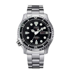 Citizen man Orologio Promaster Diver Automatic 200 mt Quadrante Nero NY0040-50E 42mm