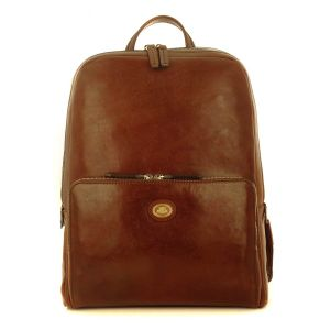The Bridge Story Man Backpack Brown Leather