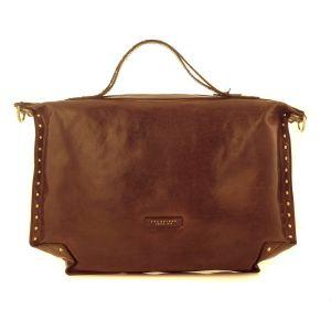 The Bridge made Italy Woman Shoulder bag Panzani Leather Yellow Lemon 0434106R