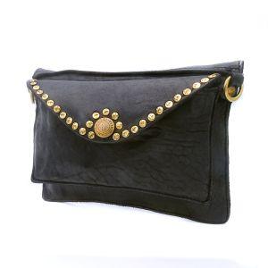 The Bridge Woman Shoulder Bag Satchel Brown Leather 04323901-14 1 handle made Italy Cool Fashion Wild elegant Florentine manufacture