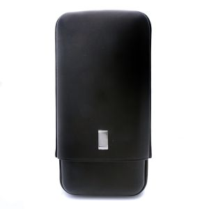 Dunhill White Sport Black Portasigari in Pelle Classic per 2 Robusto PA2301 Uomo Donna Accessori arte del fumo fuoco Icona Eleganga