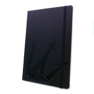 Montblanc Fine Stationery Notebook #146 Croco Print Blue Violet