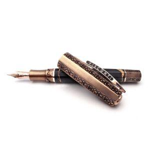 Pineider La Grande Bellezza Limited Edition Arco Brown Fountain pen PP1801412GRF  Elegant Luxury Writing Instrument Design