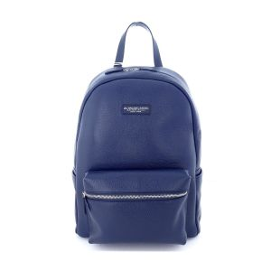 A.G. Spalding Turist Backpack BE-NEXT Navy Blue Leather Grain print