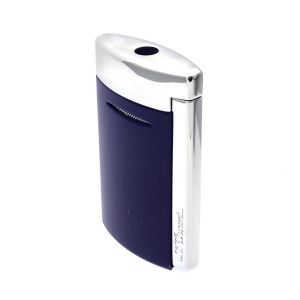 S.T. Dupont New Design Lighter MiniJet Navy Blue Torch Flame  made in France icon Art fire cigar