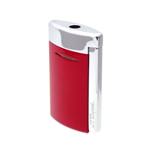 S.T. Dupont New Design Lighter MiniJet Brilliant Red Torch Flame 010803 man woman cigar universe accessories