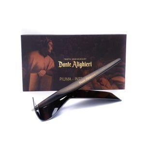 Napkin Dante Alighieri 700 Anniversary Piuma Inferno Tip Ethergraf Dina Commedia gift for him her deign luxury offive home desk Made Italy