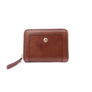 The Bridge Story Woman Wallet Brown Leather Zip closure 01760101-14 collection autumn winter 2021 made in Italy icon
