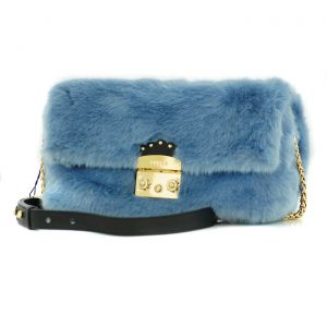 Furla Metropolis Nuvola Shoulder Bag Light Blue