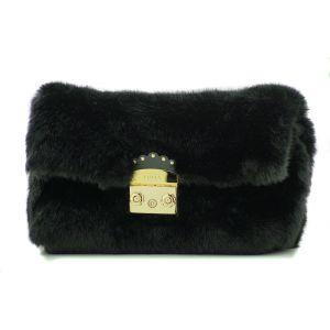 Furla Metropolis Nuvola Shoulder Bag Onyx
