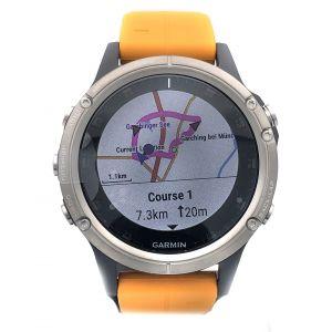 Garmin Sport Watch Fenix 5 Plus Sapphire Edition Titanium