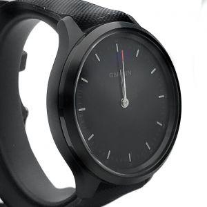 Garmin Watch Vívomove 3 Black Case Silicone Strap 010-02230-01