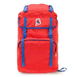 Backpack Travel Invicta Monviso 1 Red Fabric 206001903 Man Woman Story Rucksack Icon Story School Italy Vintage Cool