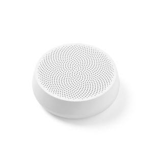 Lexon Design Speaker MINO L White Bluetooth with passive bass system Portable Office home travel sea mountain park