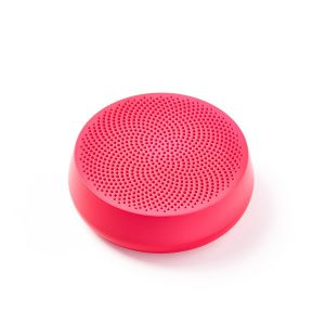 Lexon Design Speaker MINO L Pink Bluetooth with passive bass system Portable Travel Swimming-pool sea pic nic home office mountain park