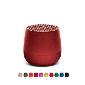 Lexon Design Speaker Mini MINO Redl Wirelessly rechargeable 3W Bluetooth   diametro 14 cm / altezza 18 cm