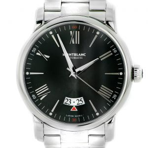 Montblanc Watch Star 4810 Steel Collection Automatic Black Dial Steel Bracelet 42 mm collection