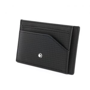 Montblanc Extreme 2.0 Mini Wallet Folder Pocket 6cc 123957 New Collection Man Woman Mont Blanc carbon-fiber print  Shield technology RFID blocking