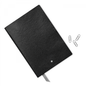 Montblanc Fine Stationery Notebook #146 Black Blank woman