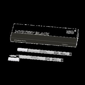 Montblanc box of 2 fineliner refills medium Mistery black 128246
