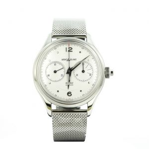 Montblanc Watch Heritage Monopusher Chronograph 42mm Milano Bracelet 119952 Minerva Manufacture Luxury time instruments made swiss Man Business Collection 2019 2020   Inspired