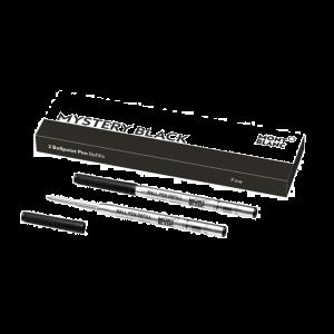 Montblanc ballpoint refill fine mistery black 128210