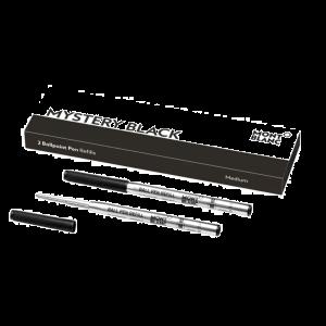 Montblanc ballpoint B refill medium mistery black 128211