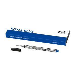 Montblanc rollerball refill capless Royal Blue 128243
