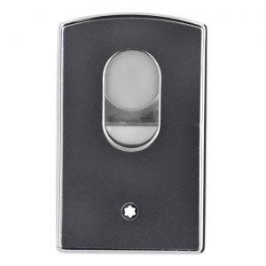 Montblanc Sartorial Hard Shell Business Card Holder Grey