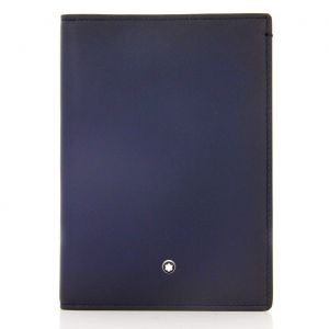 Montblanc Meisterstück Sfumato International Passport holder Blue 113171