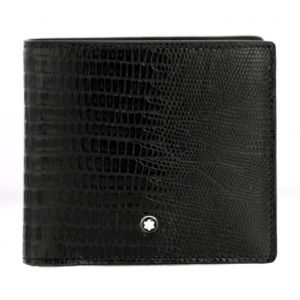 Montblanc Meisterstück Selection Lizard Wallet 4cc with coin case mont blanc