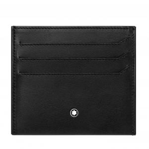 My Montblanc Nightflight Pocket Holder 3 cc with Coin Case Black