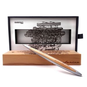 Napkin Forever Pininfarina Cambiano Glossy Black Point in Ethergraph Man Woman Design gift instruments office home