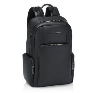 Porsche Design Roadster Leather Backpack S Black 4056487001586 MAN WOMAN SPORT LUXURY ICON