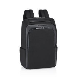 Porsche Design Roadster Nylon Man Backpack XS Black Leather 4056487001593 new design work tecnology icon