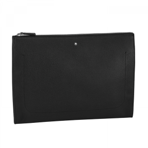 Montblanc Meisterstuck Soft Grain Portfolio A4 documents Black Leather 126231