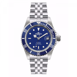 Watch Mondia Swiss Icon Automatic Diver MS-216-SSBL-BL-GB Blue bezel 40mm