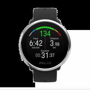 Polar Ignite Fitness Watch Multisport Smartwatch Nero Argento 90071063